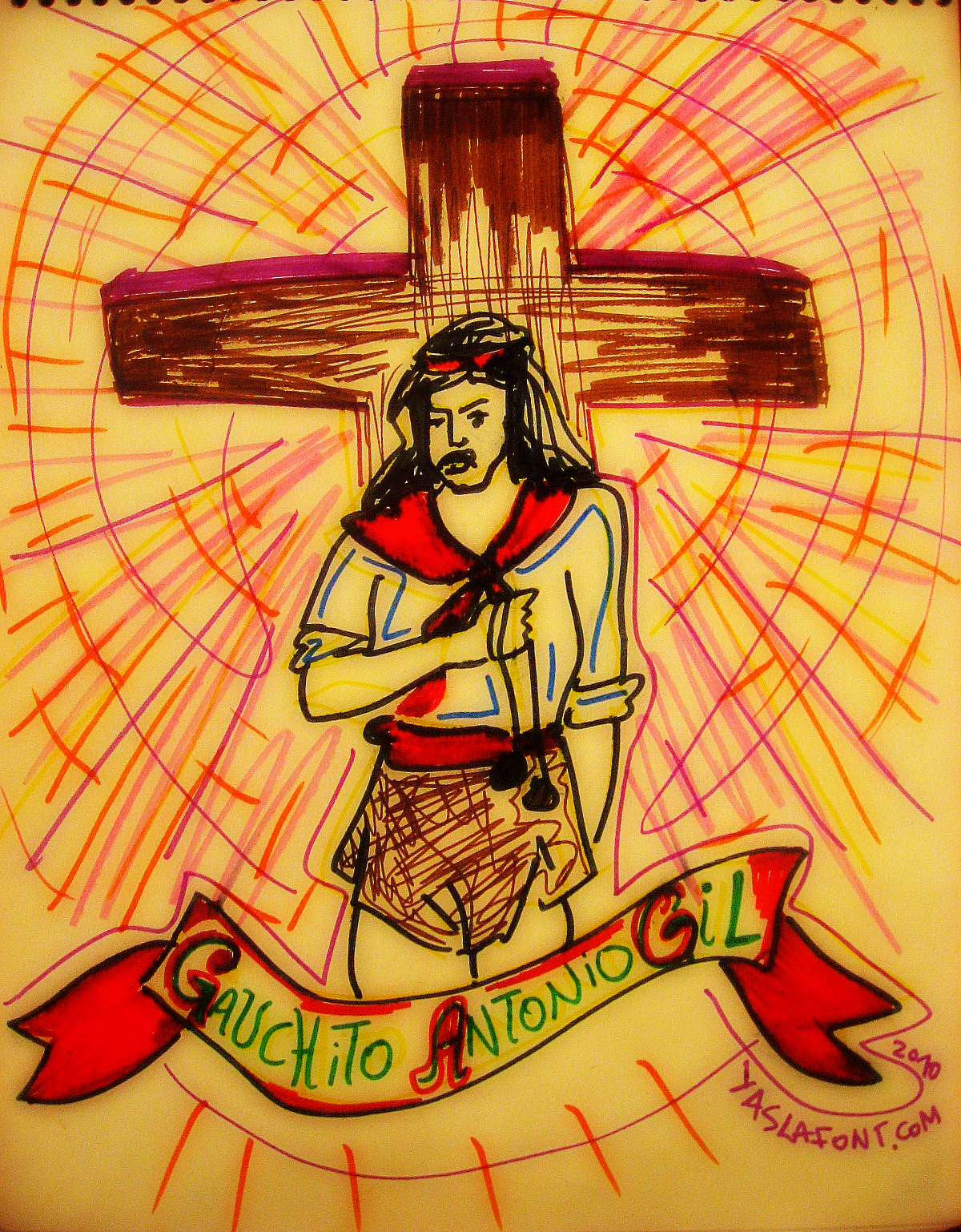 Del Gauchito Gil Tatuajes Fotos Dibujos Y Diseos Hawaii Pictures